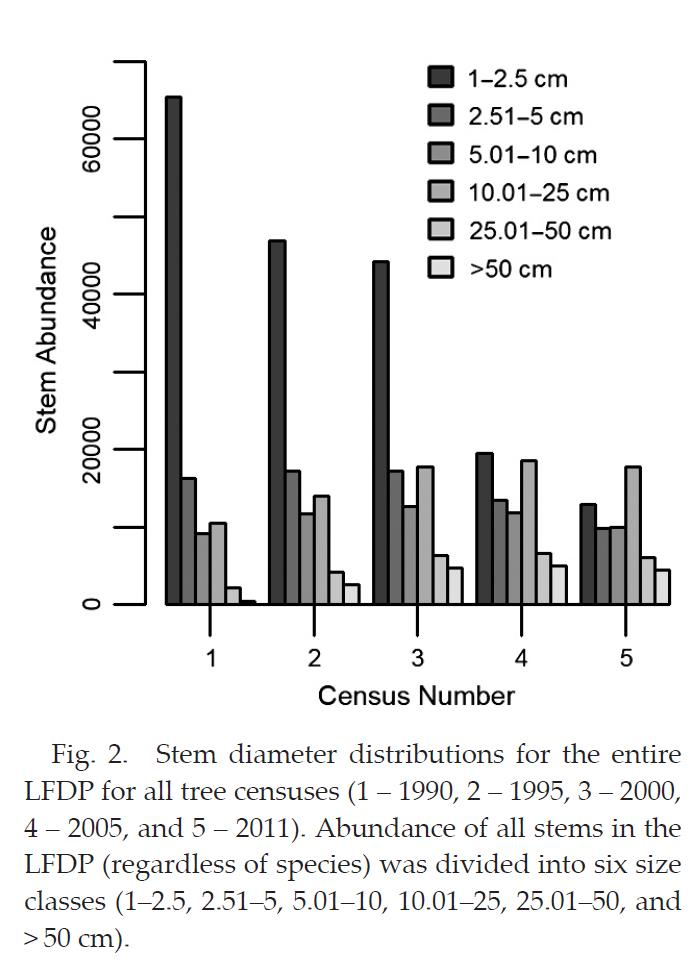 Figure 2 Stem Diameter Distribution
